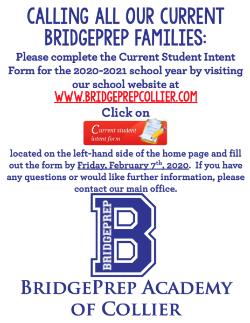 Current Student Intent Form